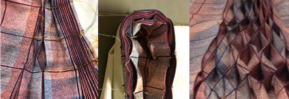 Rianne de Witte ontwierp nieuwe jurk voor tentoonstelling Slow Fashion